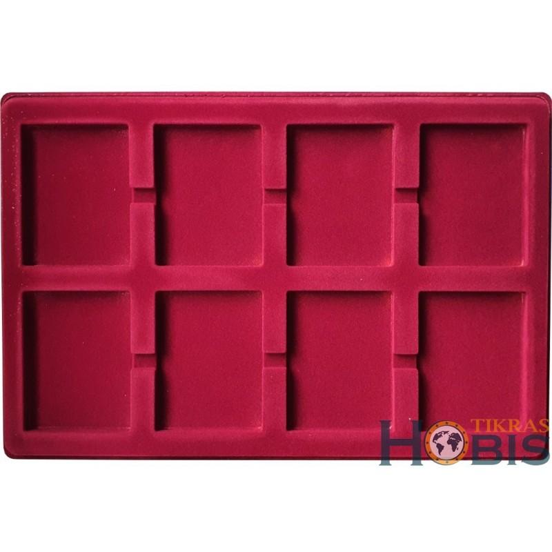 Paletė (dėklas) PGR iš 8 stačiakampių 65x85 mm