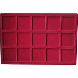 Paletė (dėklas) P15 iš 15 kvadratų 57x57 mm