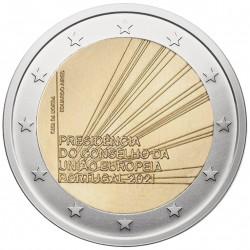 Portugalija 2 eurai, 2021 Pirmininkavimas ES UC112