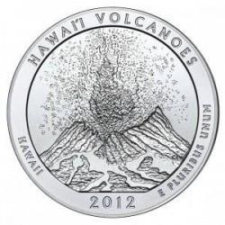 JAV 25 centai, 2012 Hawaii Volcanoes