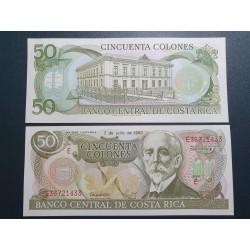 Kosta Rika 50 Colones, 1993...