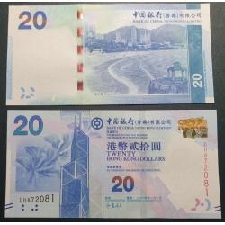 Hong Kong  20 Dollars, 2014 P-341d