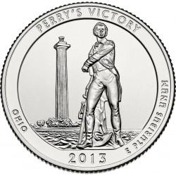JAV 25 centai, 2013 Perry's Victory, Ohio