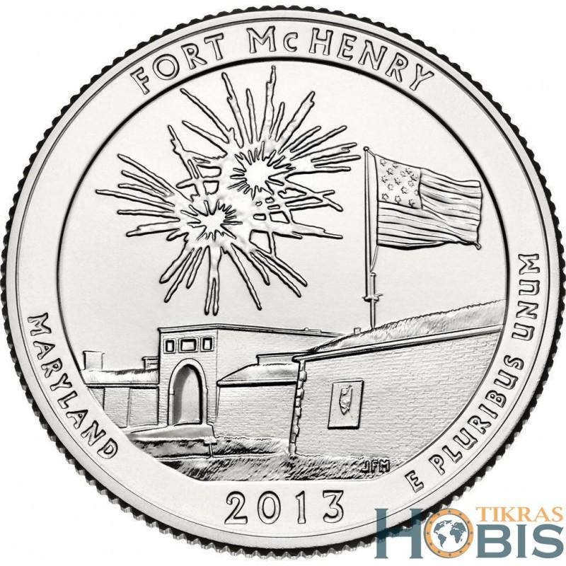 JAV 25 centai, 2013 Fort McHenry, Maryland