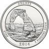 JAV 25 centai, 2014 Arches, Utach