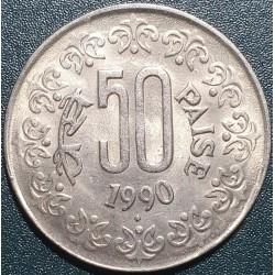 Indija 50 paisų, 1984-1990...