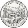 JAV 25 centai, 2014 Great Smoky Mountai, Tennessee