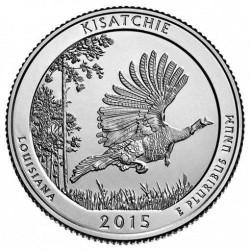 JAV 25 centai, 2015 Kisatchie, Louisiana