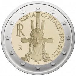 Italija 2 eurai, 2021 Romos...