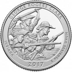 JAV 25 centai, 2017 George Rogers, Indiana