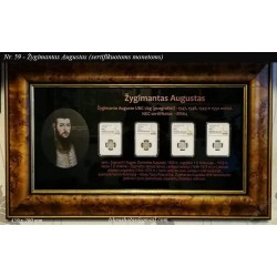 Frame for Certified Coins...