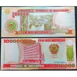 Mozambikas 100000 Meticais,...