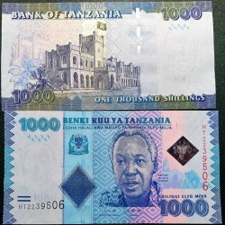 Tanzania 1000 shilings,...