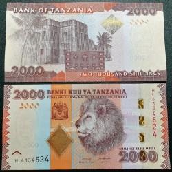 Tanzania 2000 shilings,...