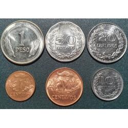Kolumbija centavų ir pesos...