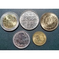 C. pesos 5 pcs. set, 1998-2008