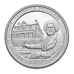 JAV ¼ dolerio, 2017 Frederick Douglass National Historic Site