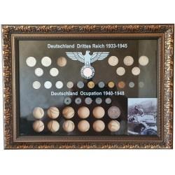 Rėmelis Vokietijos monetoms Nr. 69 - 1933-1948