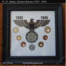 Rėmelis Vokietijos 1933-1945 monetoms Nr. 19