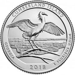 JAV 25 centai, 2018 Cumberland Island, George