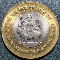 Indija 10 rupijų, 2012 Šri Mata Vaishno Devi KM430