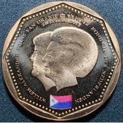Nyderlandų Antilai 5 guldenai, 2013 Sint Marteno KM86