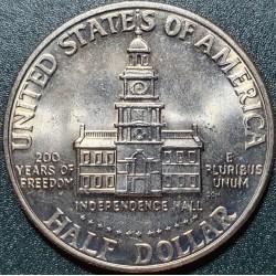 JAV 1/2 dolerio, 1976...