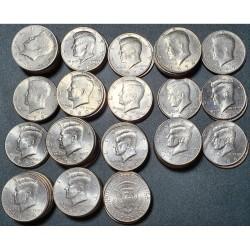 US 1/2 dollar, 1971-2001...