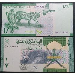 Omanas 1/2 rialo, 2020 P-51