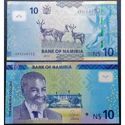 Namibija 10 dolerių, 2015 P-16