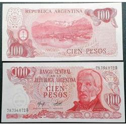Argentina 100 pesų, 1977...