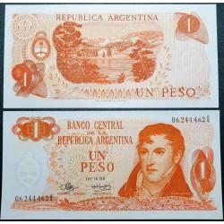 Argentina 1 pesas, 1973...