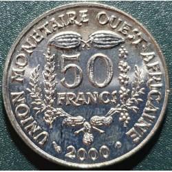 Vakarų Afrika (BCEAO) 50...