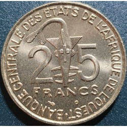Vakarų Afrika (BCEAO) 25...