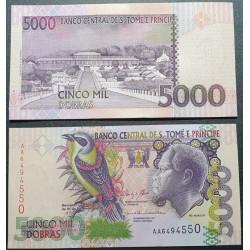 San Tomė ir Prinsipė 5000...