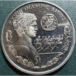 Britų Mergelės salos 1 doleris, 2004 Atėnai KM303