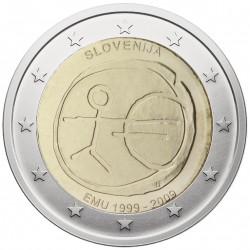 Slovėnija 2 eurai, 2009 EMU...