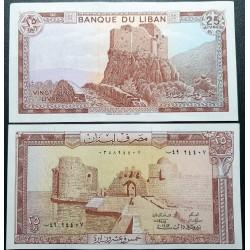 Lebanon 25 pounds (livres),...