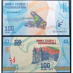 Madagaskaras 100 Ariary,...