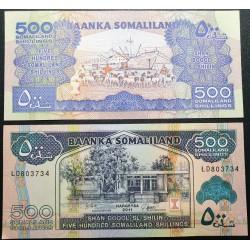 Somaliland 500 shillings,...