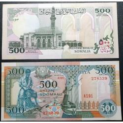 Somalis 500 šilingų, 1996...
