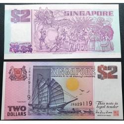 Singapūras 2 doleriai, 1992...