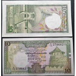 Šri Lanka 10 rupijų, 1989...