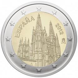 Ispanija 2 eurai, 2012...