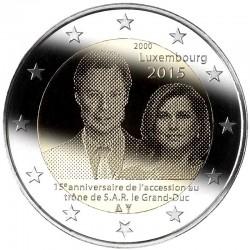 Liuksemburgas 2 eurai, 2015...