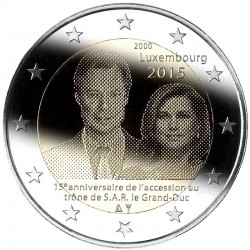 Luxembourg 2 euro, 2015...