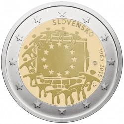 Slovakija 2 eurai, 2015 ES...