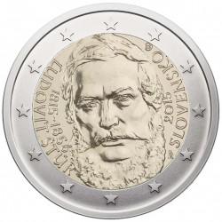 Slovakija 2 eurai, 2015 Liudovyto Štūro 200