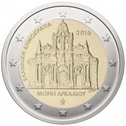 Greece 2 euro, 2016 Arkadi...