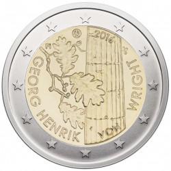 Suomija 2 eurai, 2016 G. Henriko fon Vrigto100 UC102